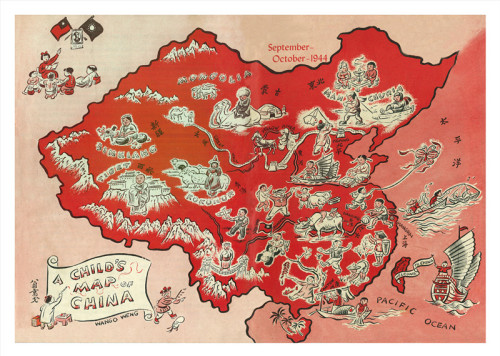 A Child's Map of China